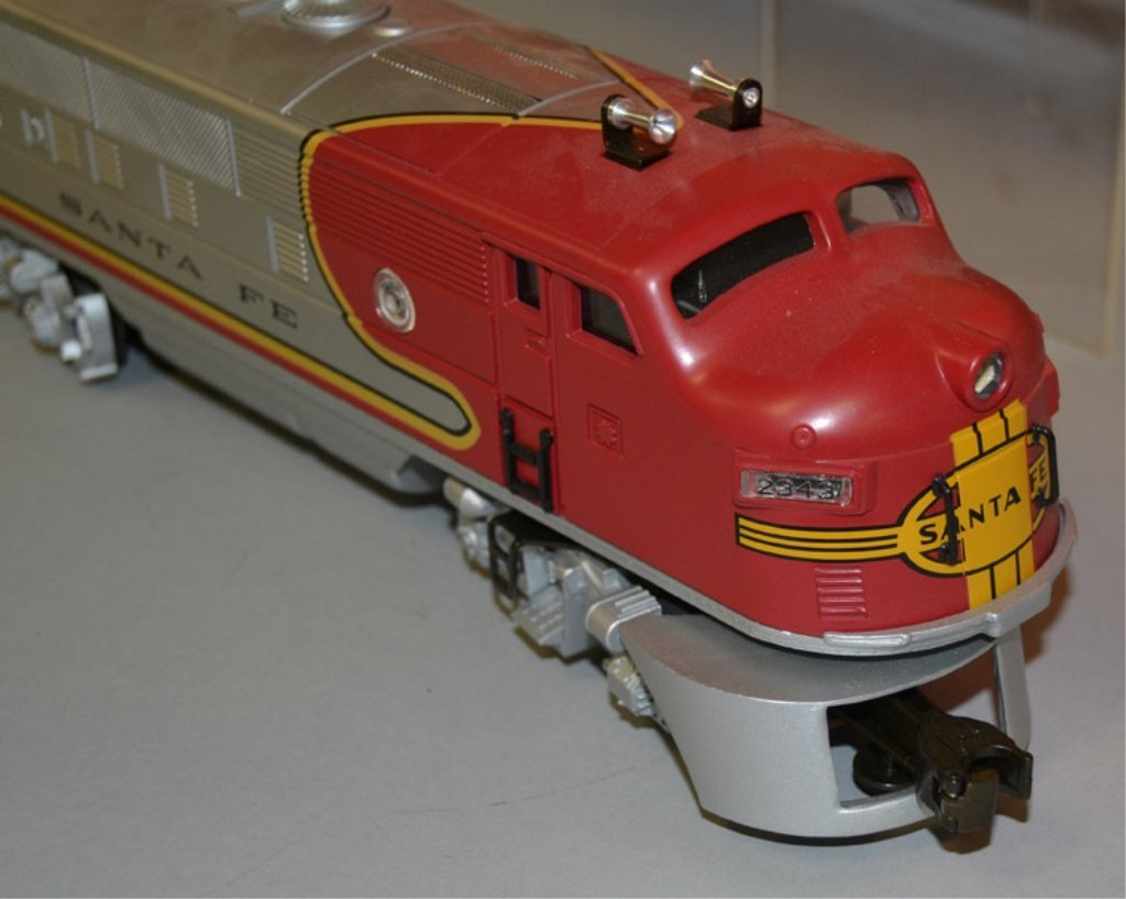 Lionel Twin Diesel Locomotives No. 2343 Santa Fe - 3