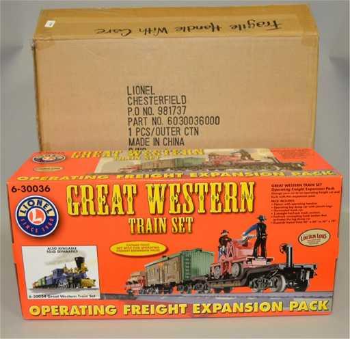 Great Western Train Set 6 30036 In Original Box
