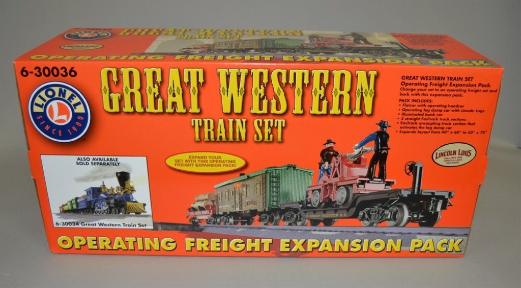 Great Western Train Set 6-30036 in original box - 2