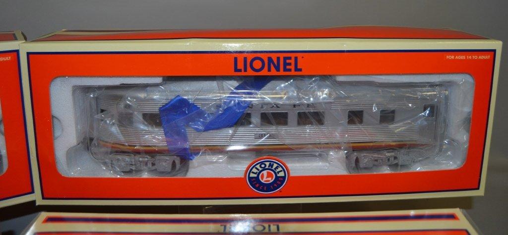 Four Lionel Railroad cars - 2
