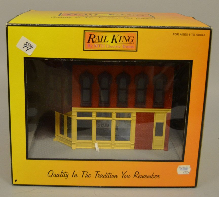 Two Rail King buildings in boxes - 2