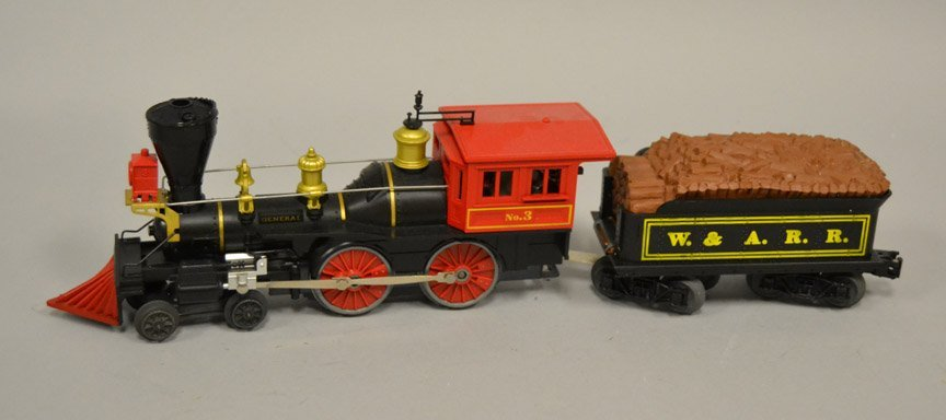 Lionel General No. 3 steam locomotive four piece set - 2