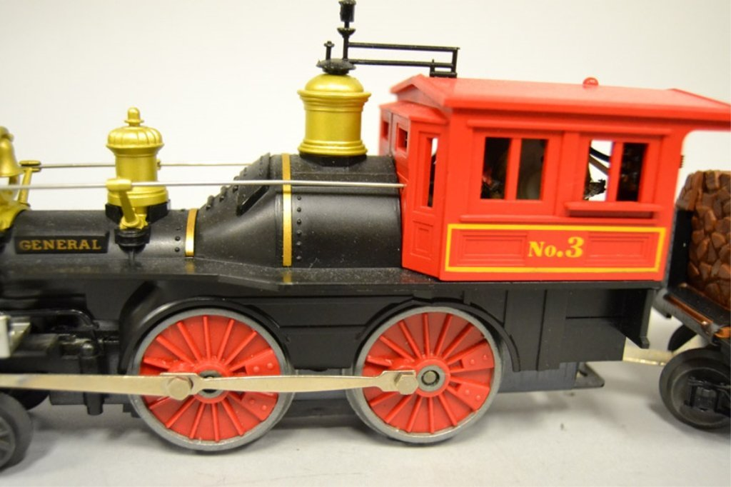 Lionel General No. 3 steam locomotive four piece set - 3