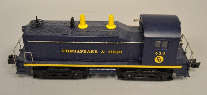 Lionel Chesapeake & Ohio Switcher Locomotive 624