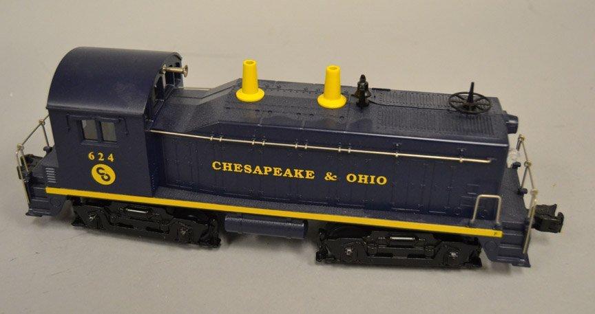 Lionel Chesapeake & Ohio Switcher Locomotive 624 - 2