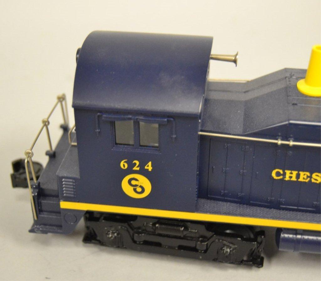 Lionel Chesapeake & Ohio Switcher Locomotive 624 - 3