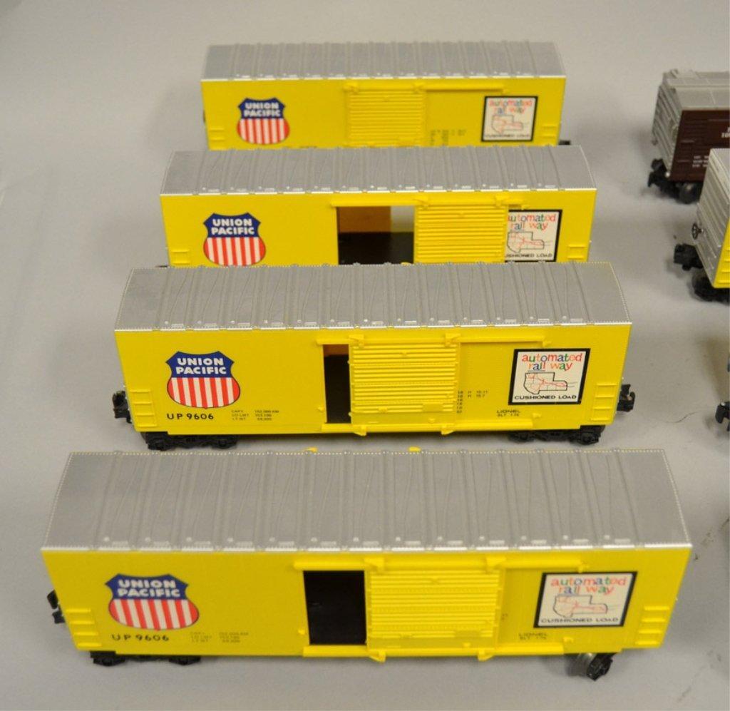 Twelve O gauge Railroad cars - 2