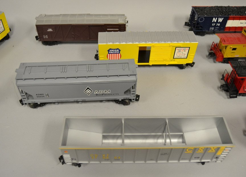 Twelve O gauge Railroad cars - 3