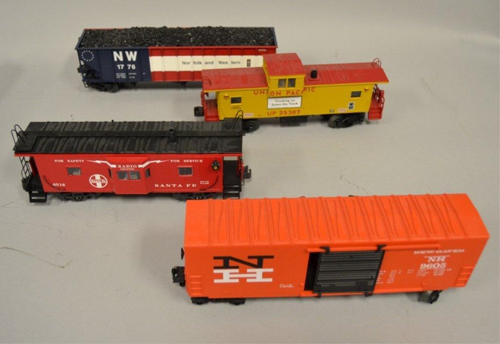 Twelve O gauge Railroad cars - 4