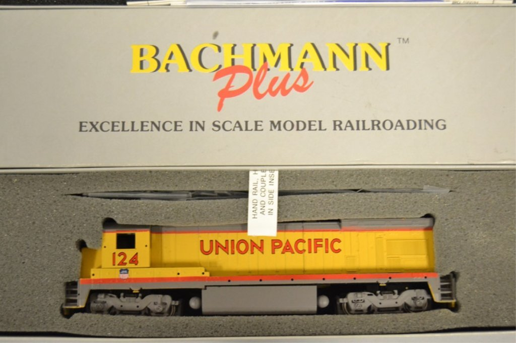 Two Bachmann Plus Diesel locomotives - 2