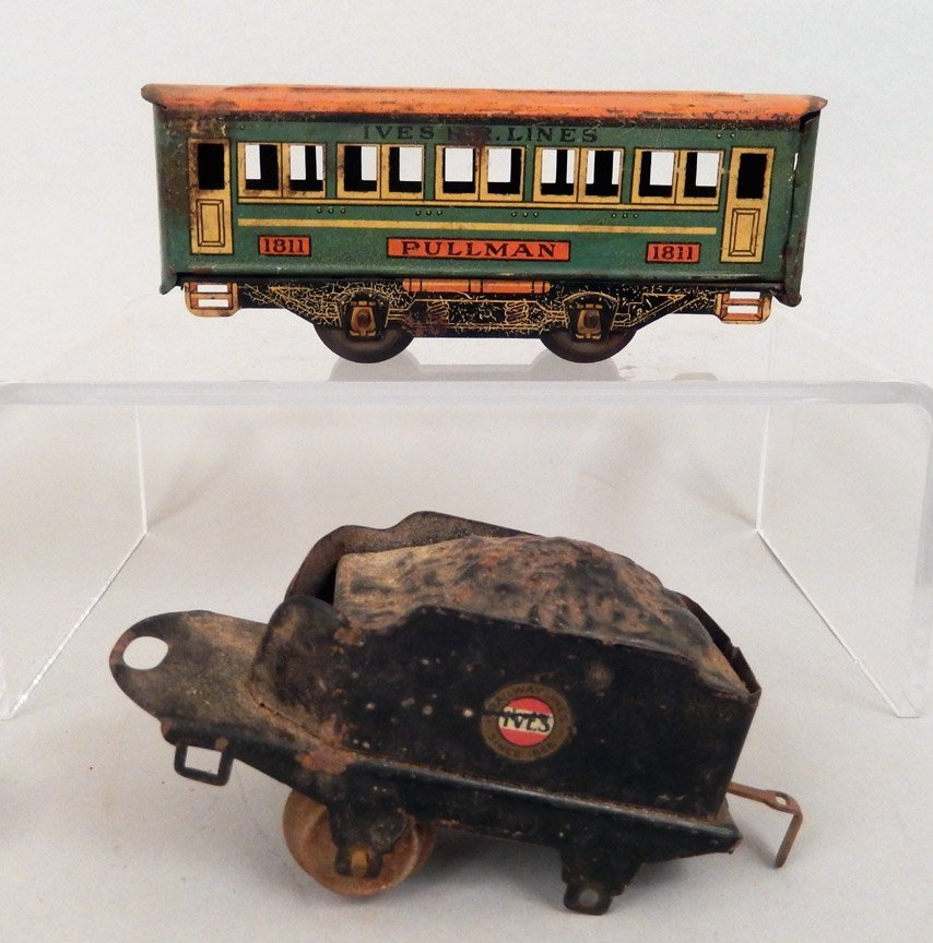 Seven prewar passenger cars, Ives, Bing, Joy Line - 5
