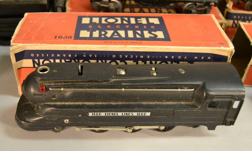Lionel Freight Set No. 1073 with boxes - 2