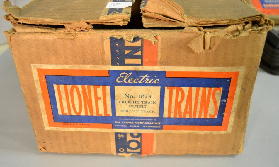 Lionel Freight Set No. 1073 with boxes - 9