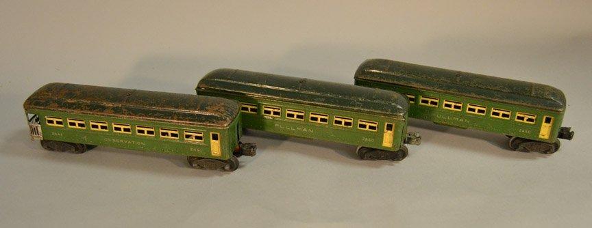 Six Lionel passenger cars - 2