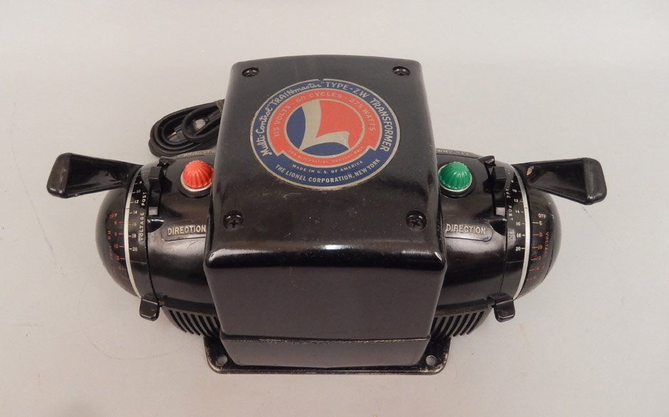 "Lionel multi-Control ""Trainmaster"" Type ZW transformer"