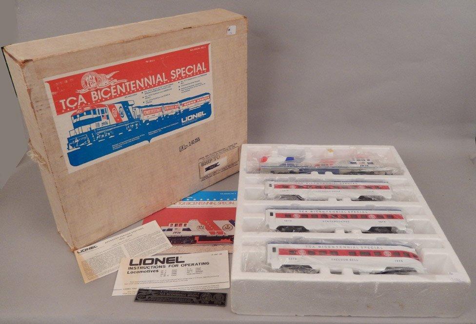Lionel TCA Bicentennial Special in original box