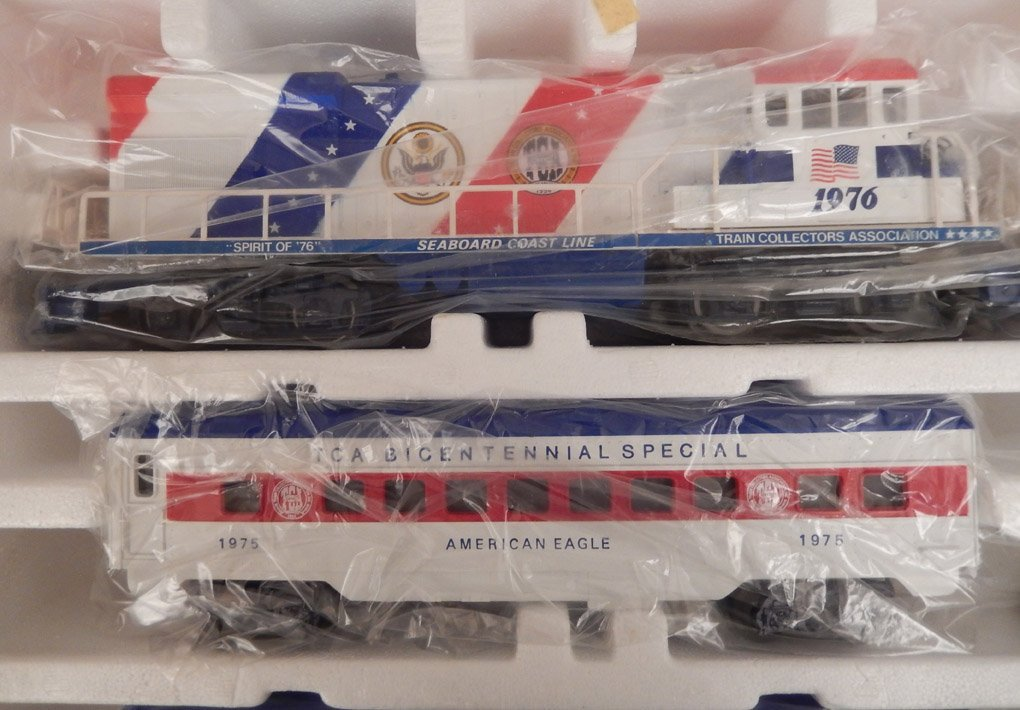 Lionel TCA Bicentennial Special in original box - 3