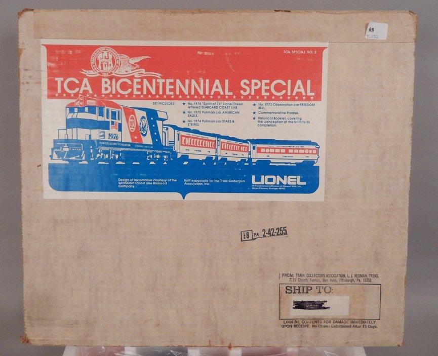 Lionel TCA Bicentennial Special in original box - 6