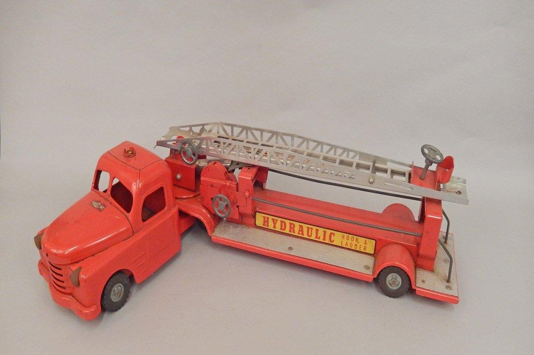 Structo pressed steel Hydraulic Hook & Ladder - 7