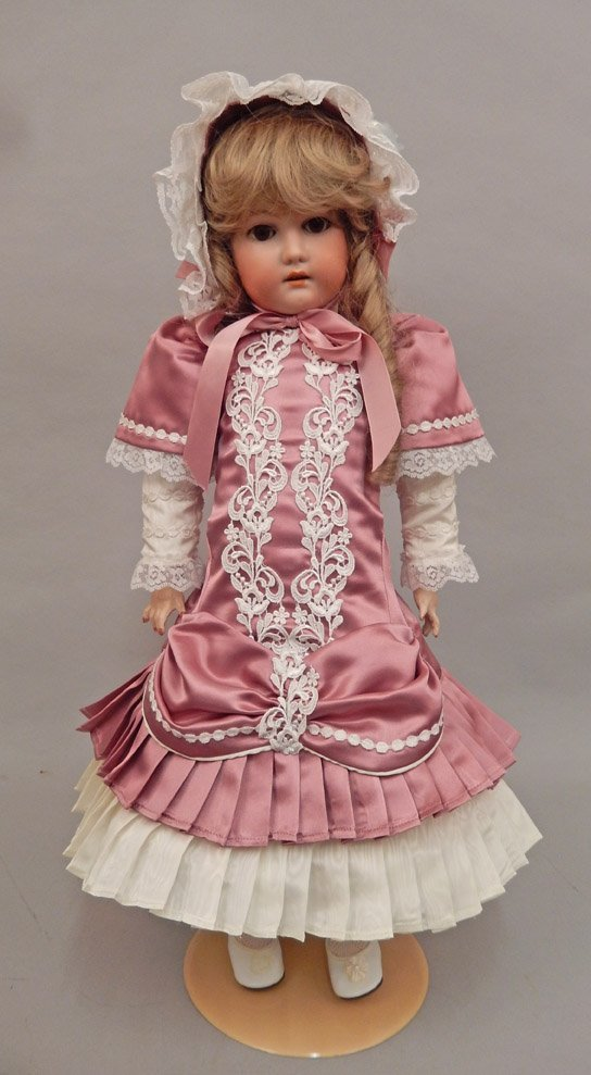 CM Bergmann bisque head doll