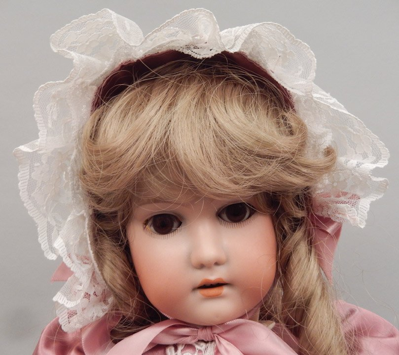 CM Bergmann bisque head doll - 2