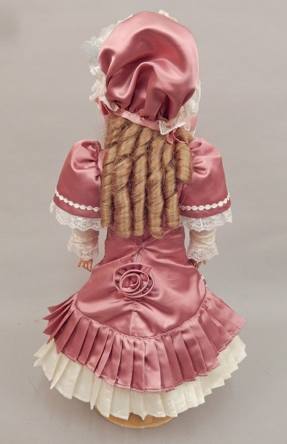 CM Bergmann bisque head doll - 3