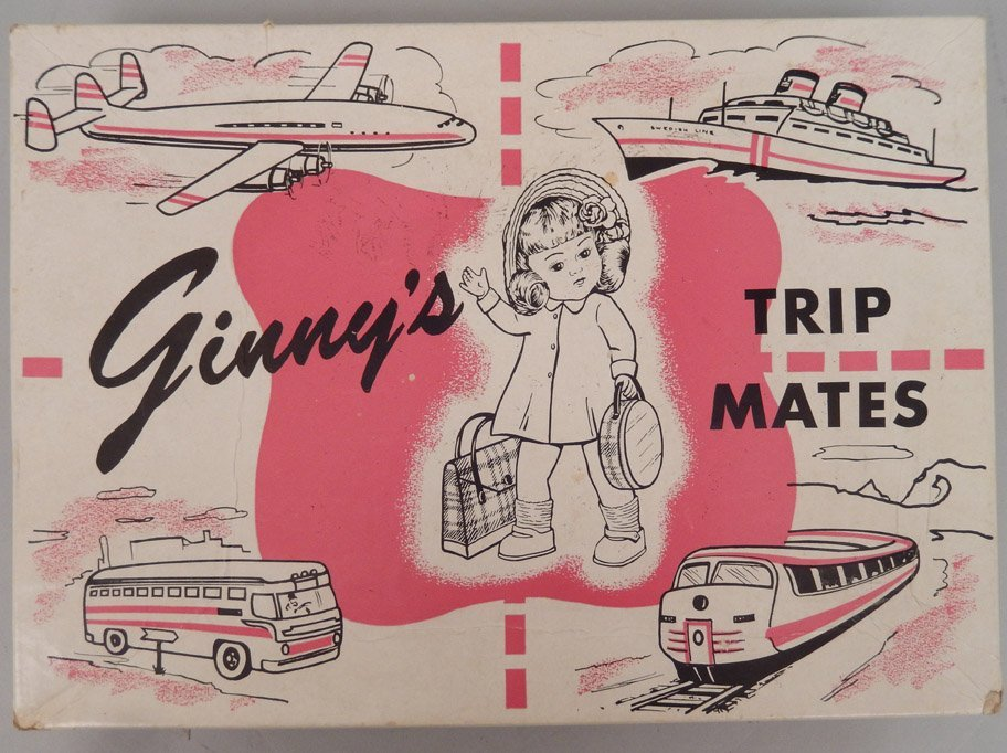 Ginny's Trip Mates in original box and two Ginny books - 3