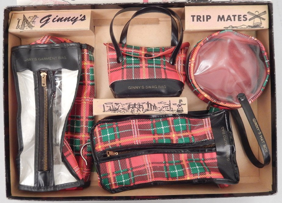 Ginny's Trip Mates in original box and two Ginny books - 4