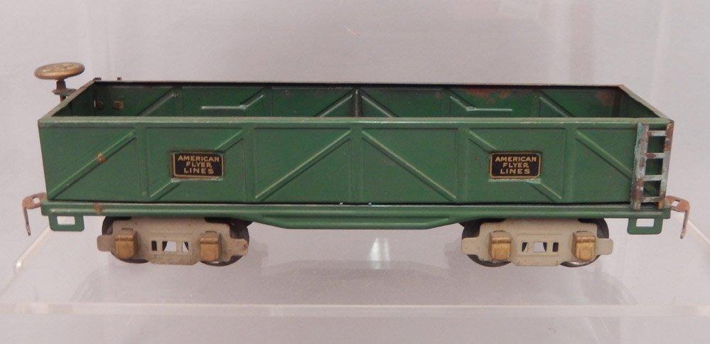 Three American Flyer Lines prewar O gauge freight cars, - 3