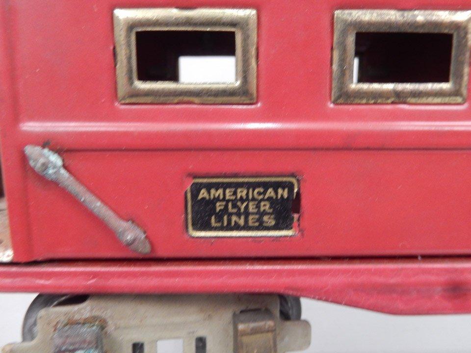 Three American Flyer Lines prewar O gauge freight cars, - 5