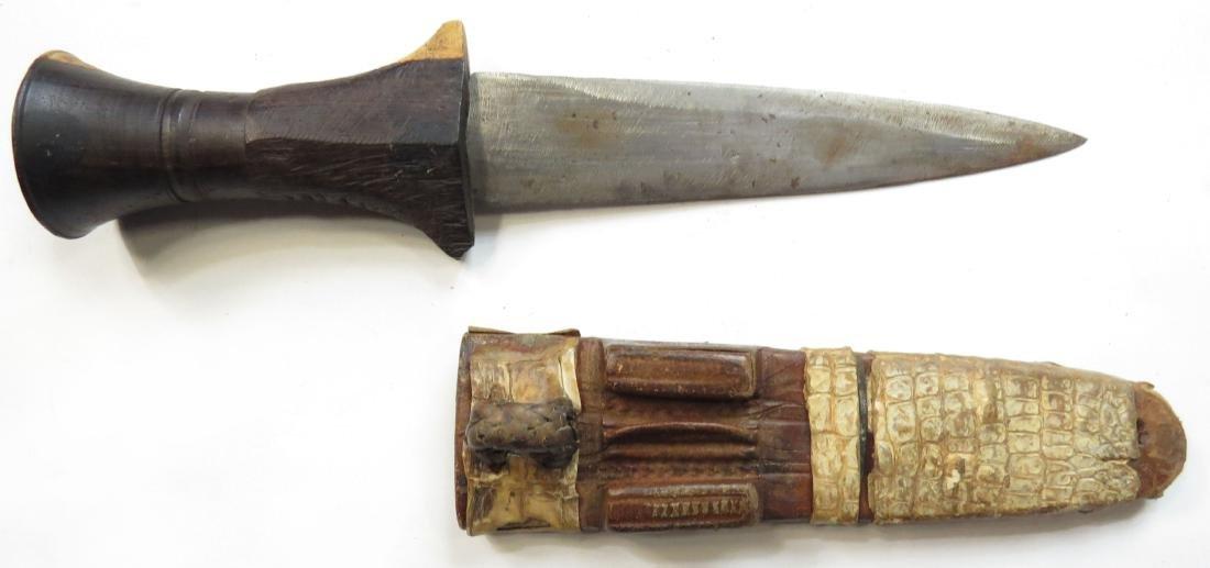 A SUDANESE ARM DAGGER - 2