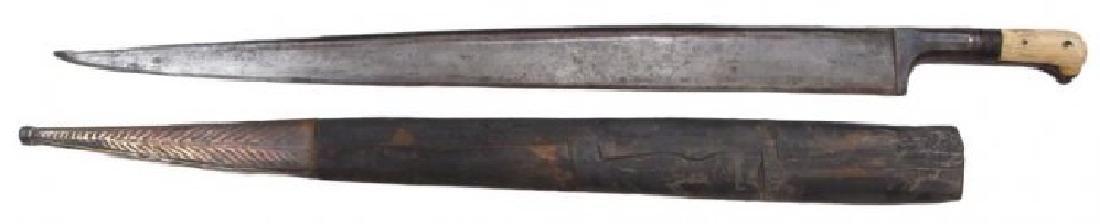 AN AFGHAN KHYBER KNIFE - 2
