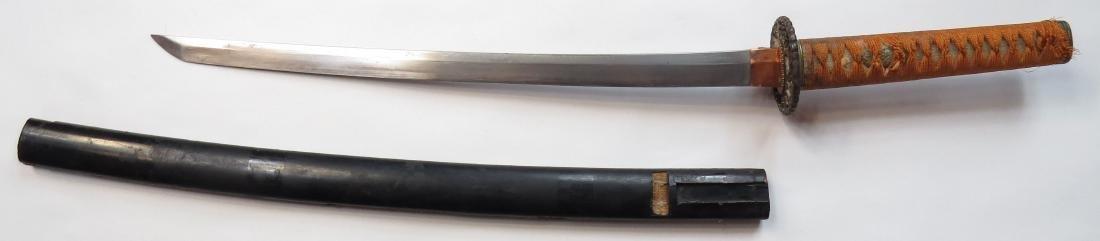 A JAPANESE WAKIZASHI SWORD - 2