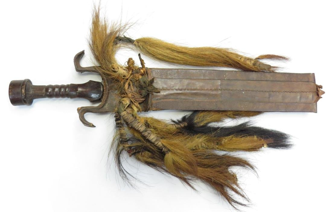 A CONGOLESE SWORD