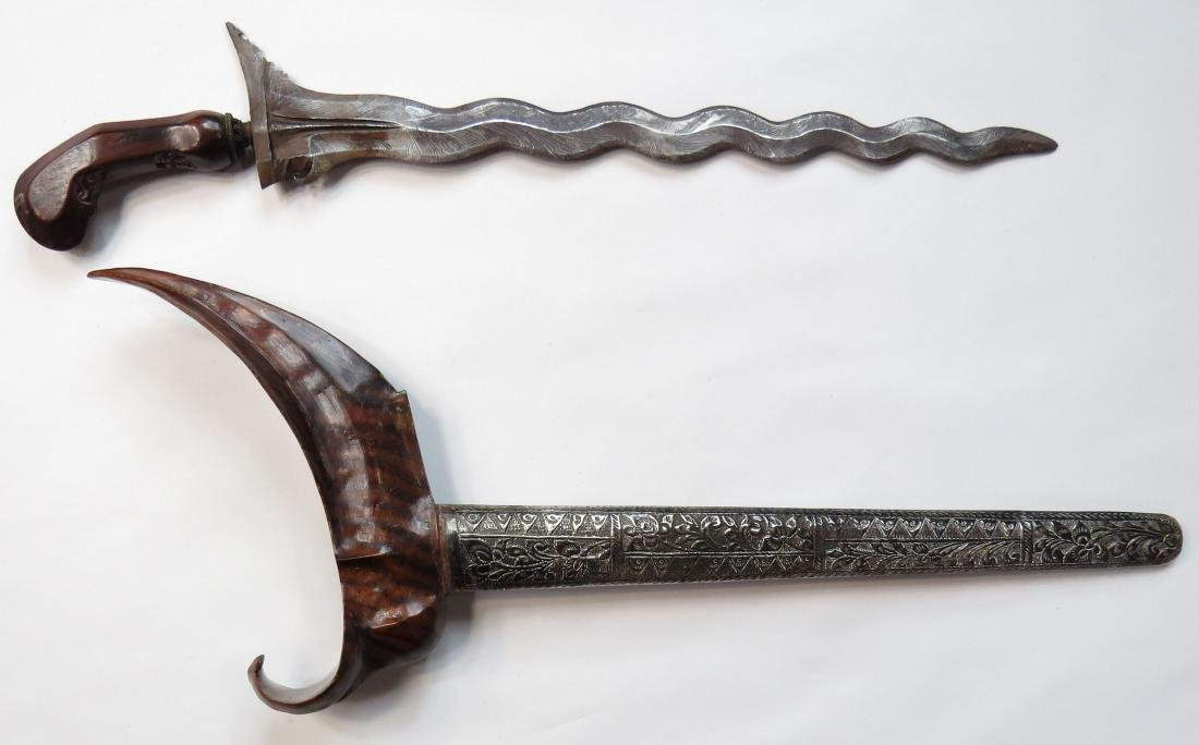 AN INDONESIAN KRIS SWORD