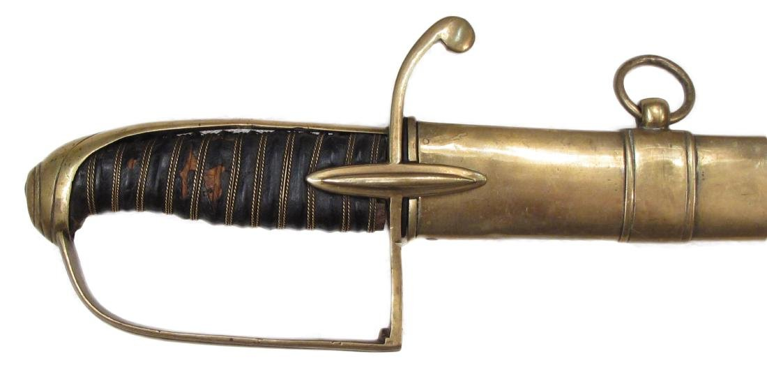 A NAPOLEONIC LIGHT CAVALRY OFFICER'S SABER - 2
