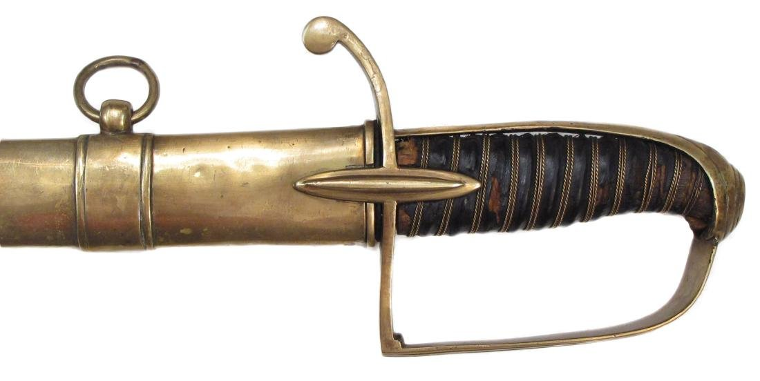 A NAPOLEONIC LIGHT CAVALRY OFFICER'S SABER - 5