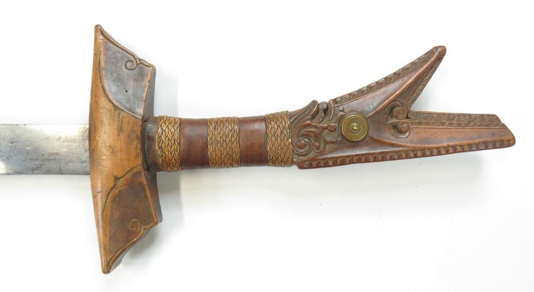 A MORO KAMPILAN SWORD - 5