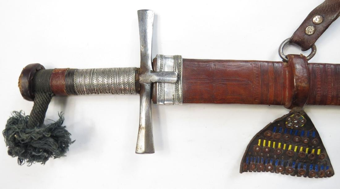 A SUDANESE KASKARA BROADSWORD - 2