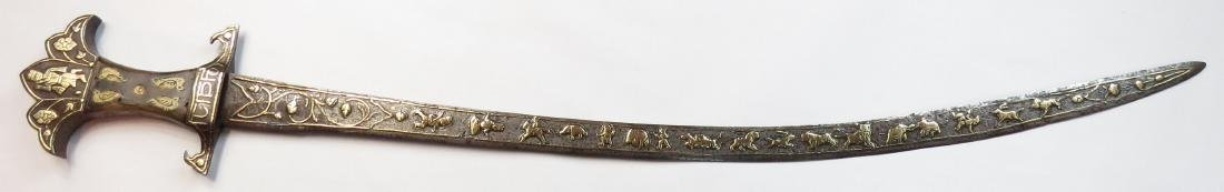 A RARE INDIAN TULWAR SWORD