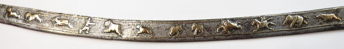 A RARE INDIAN TULWAR SWORD - 6