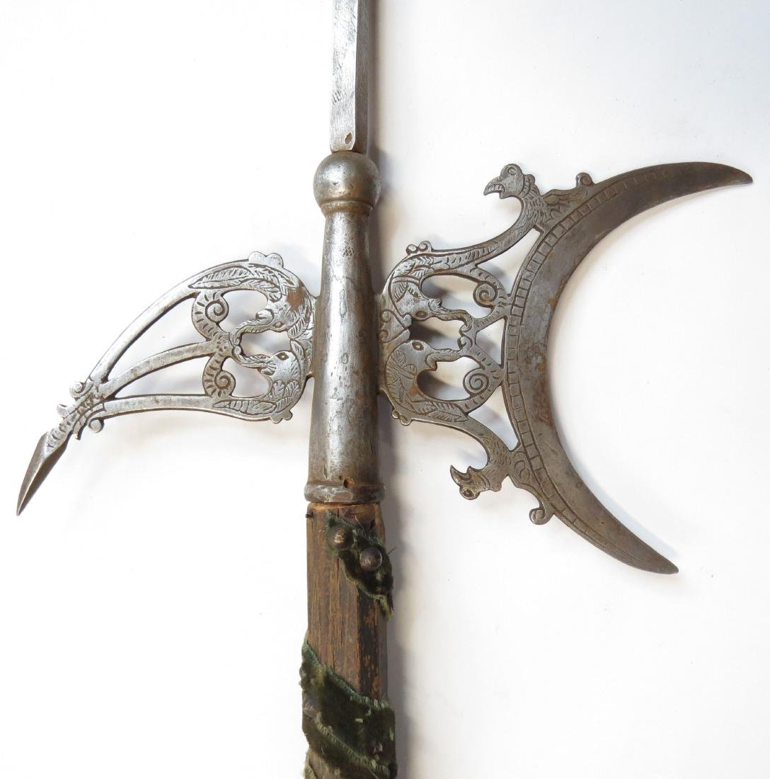 A FINE FRENCH HALBERD - 3