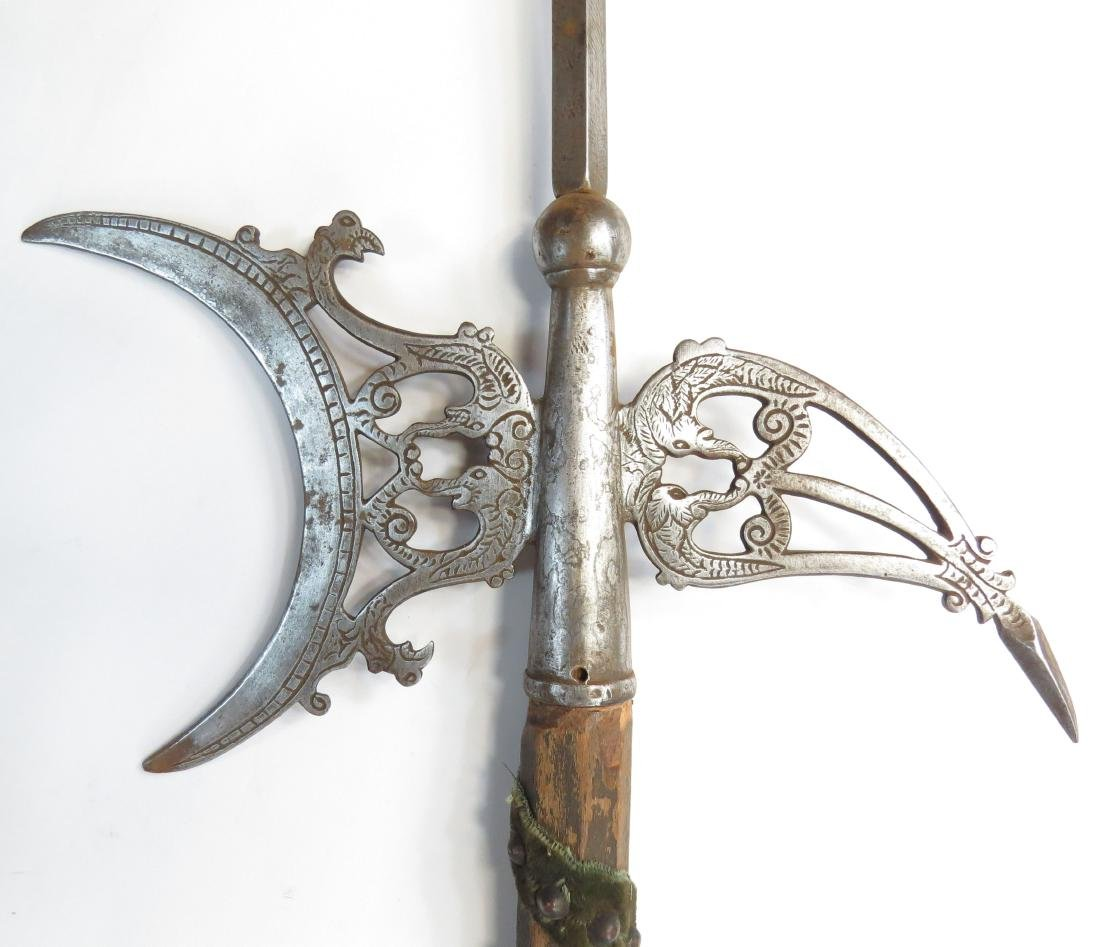 A FINE FRENCH HALBERD - 5