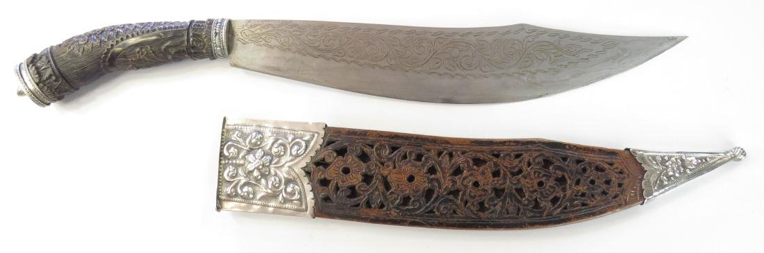 A FINE PHILIPPINES BOLO KNIFE - 4