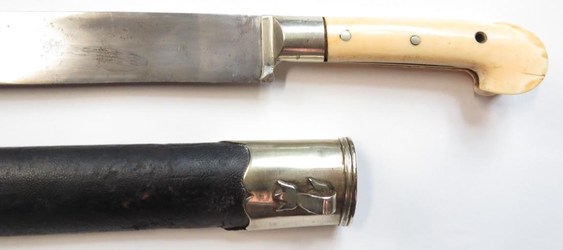 AN OTTOMAN YATAGHAN SWORD - 4