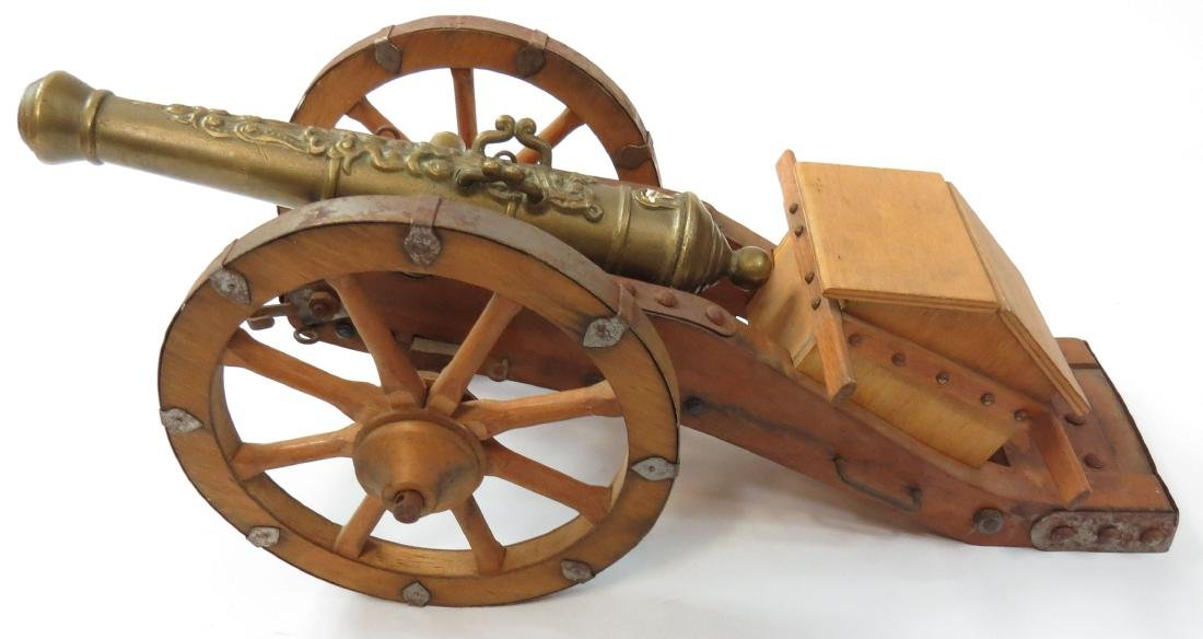 A MODEL SPANISH CANNON - 4