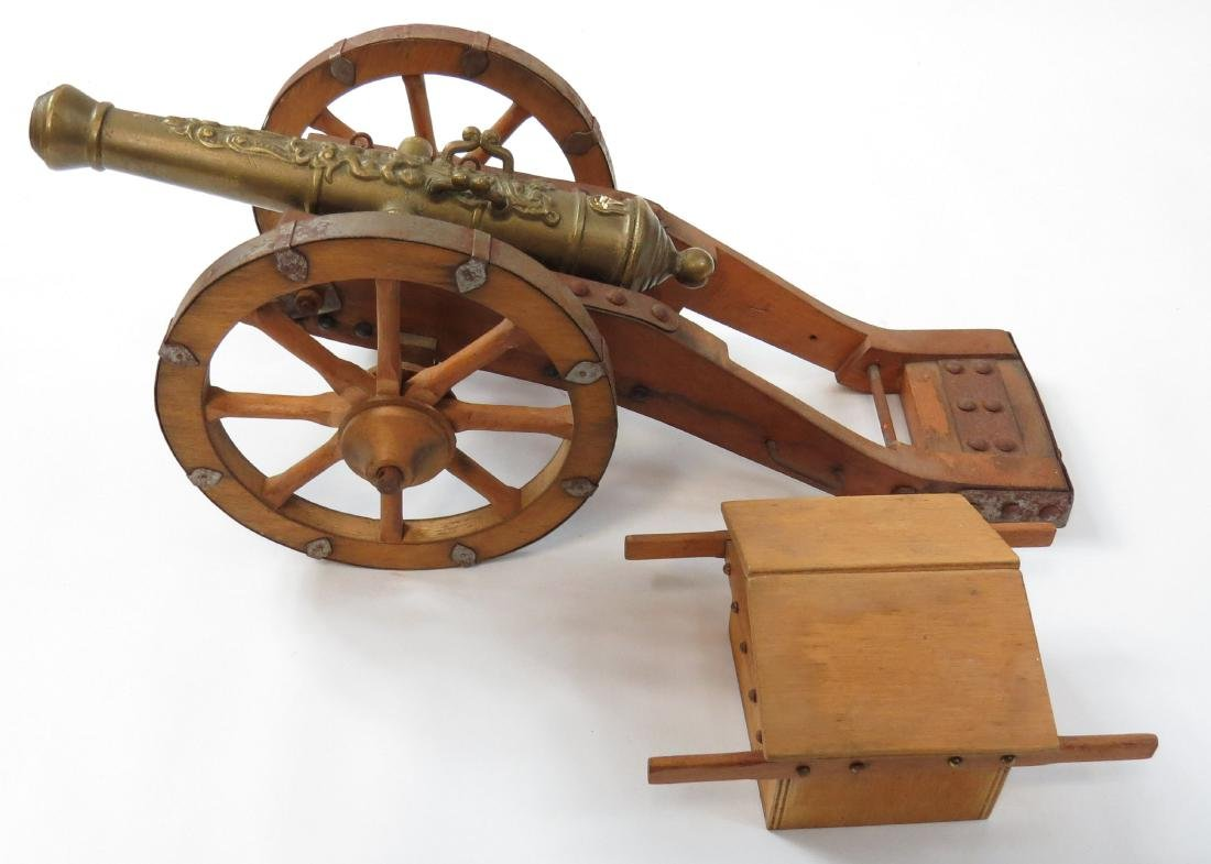 A MODEL SPANISH CANNON - 5