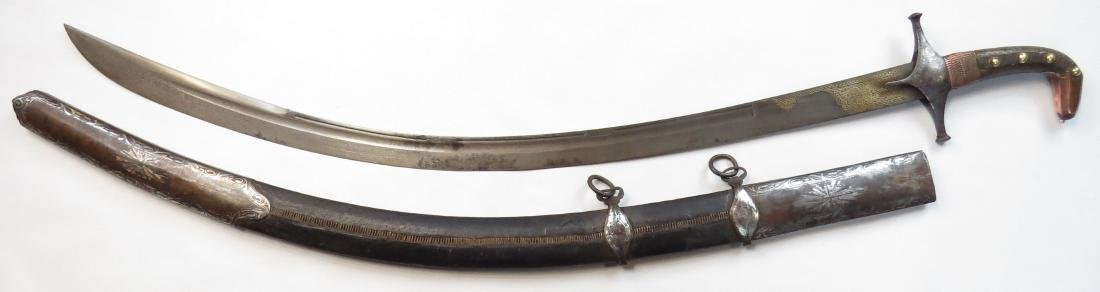 A PERSIAN SHAMSHIR SWORD - 4