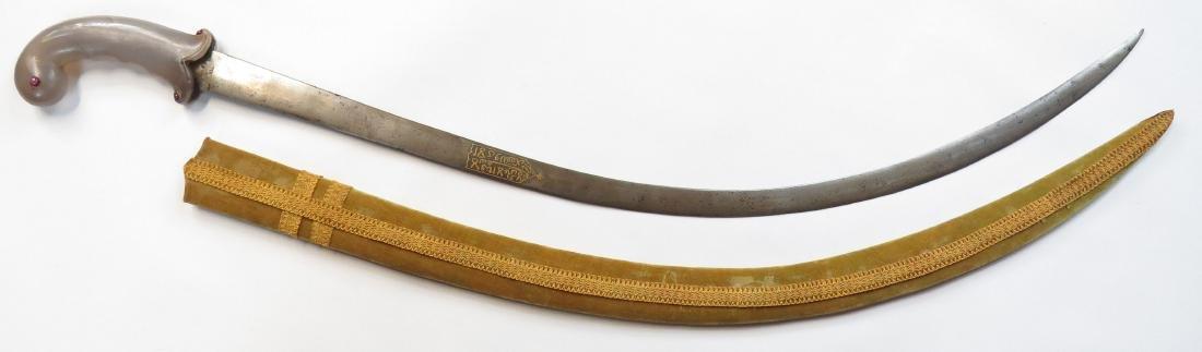A FINE MUGHAL SHAMSHIR SWORD