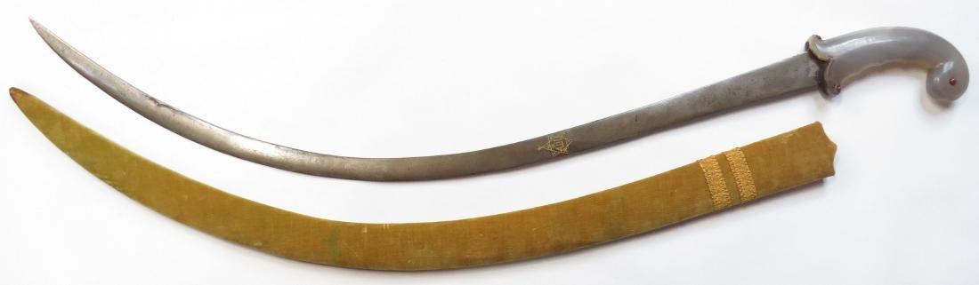 A FINE MUGHAL SHAMSHIR SWORD - 5
